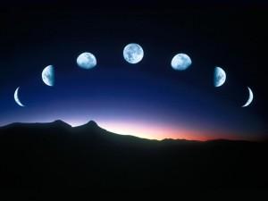 Ciclo femminile luna