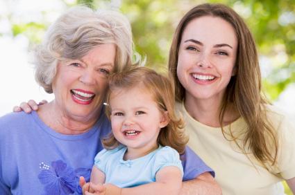 bambino preferisce la nonna
