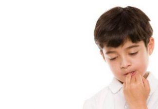 onicofagia nei bambini