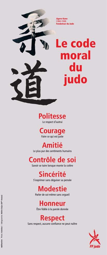 Judo codice morale