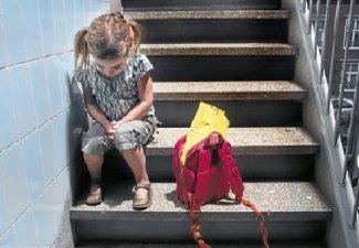 non vuole andare a scuola