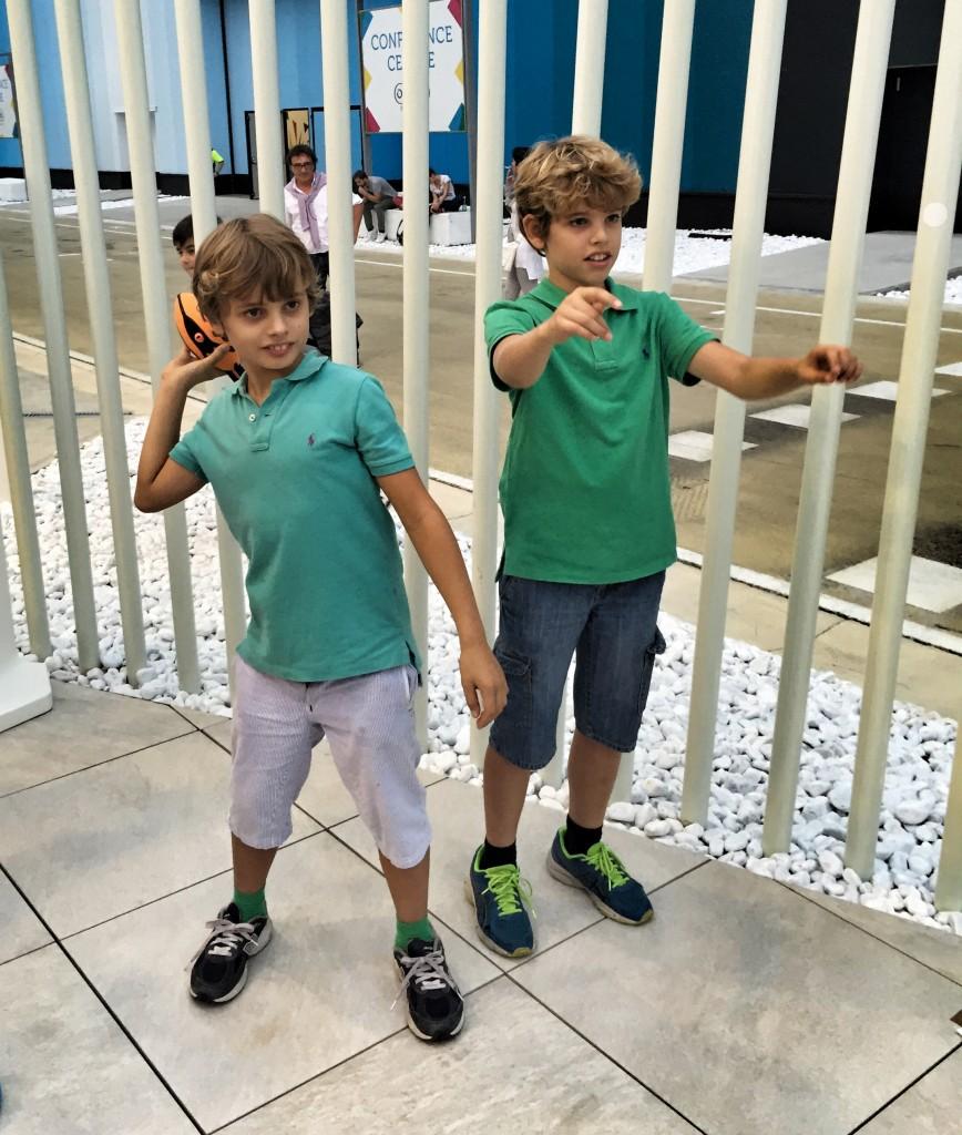 Kinder+Sport lancio del peso
