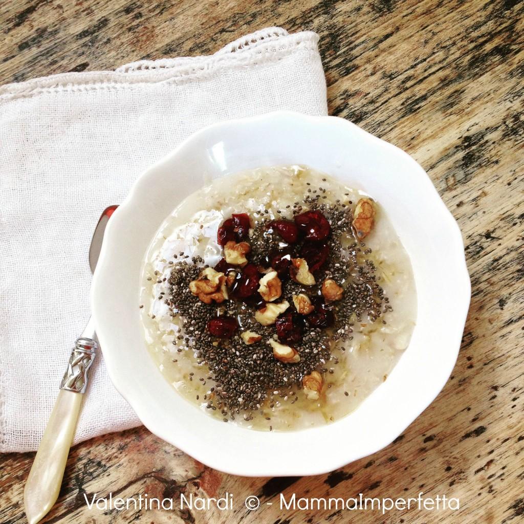 Ricetta del porridge