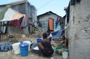 Albero della Vita Haiti Slum