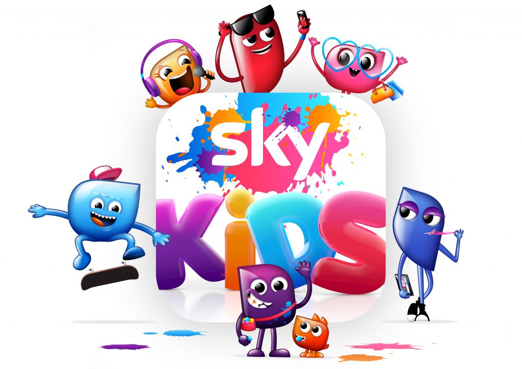 Sky Kids Character Lock Up