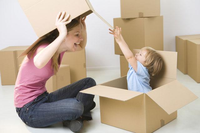 traslocare con i bambini