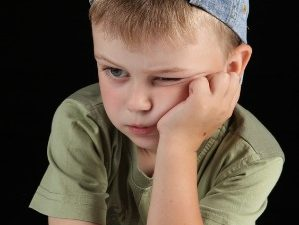 Bambino stressato