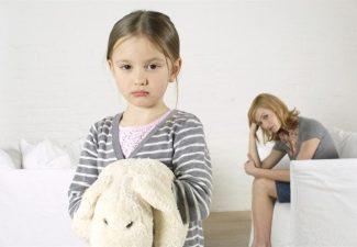 Separazione figlia