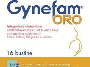 Integratore gravidanza Gynefam oro