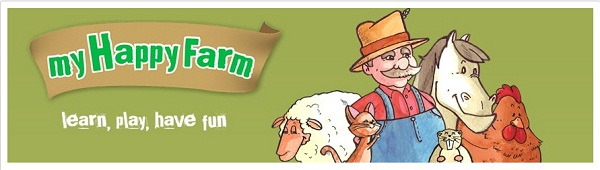 My happy farm app per bambini
