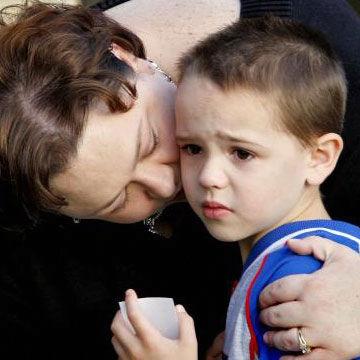 Un bambino dispettosos, l'aggressività e l'empatia